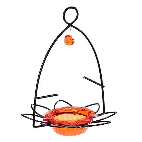 Best oriole feeder - Birds Choice Flower Oriole Bird Feeder Small Orange