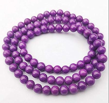 Collar de Moda para Mujer Pulsera de Jade Natural de Loto Natural de Pulsera de Piedra Natural, Dientes de Pulsera de Roca de fosfato Oblicua Izar