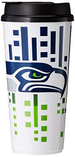 (The Memory Company NFL Seattle Seahawks Hype Travel Cup, 32-Ounce)