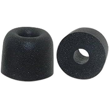 Replacement Ear Buds for in Ear Earphones Black Earphones Plus B-6MF-BKL Memory Foam Earbuds Large