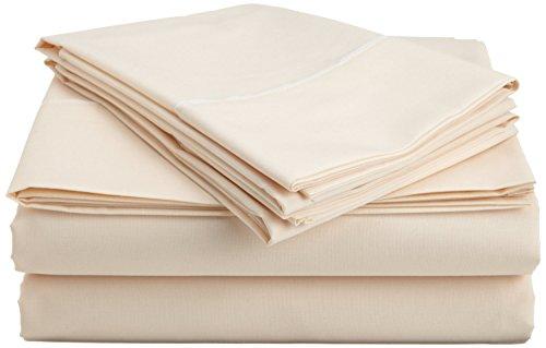 Superior 600 Thread Count Single Ply 100% Premium Long-Staple Egyptian Cotton Cal-King Size (72