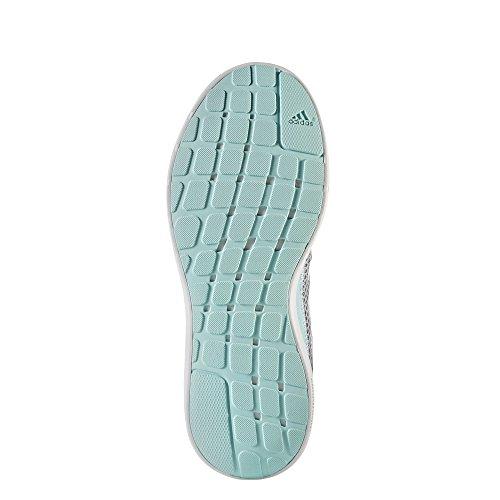adidas Element Refresh 3 W, Zapatillas de Running para Mujer Gris (Gritre/Ftwbla/Gridos)