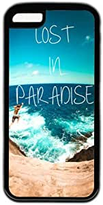 Lost In Paradise Quote Theme Iphone 5c Case
