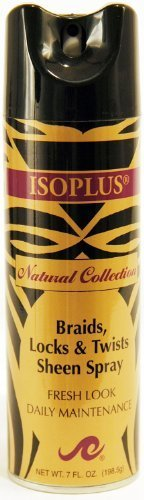 Isoplus Natural Collection Braid/Lock Sheen 7 oz. by Isoplus Isoplus Natural Collection Braid