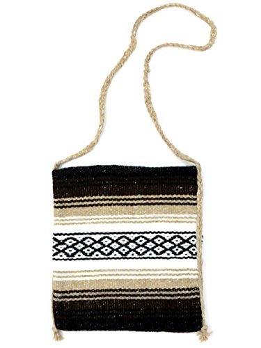 Falsa Blanket Mexican Tote Bag (Brown)