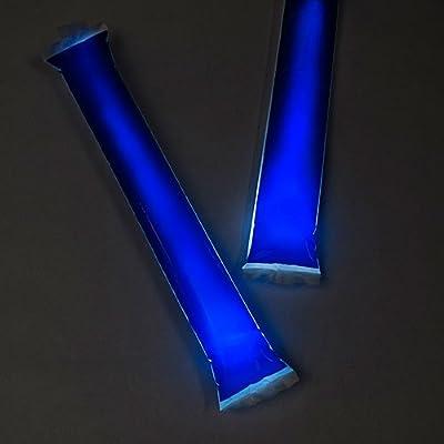 JBJ ENTERPRISES / BAMBAMS Unimprinted Blue Light Up Bam Bams: Toys & Games