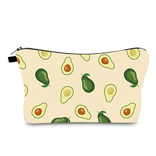 Jom Tokoy Hakuna Matata Makeup Bag Travel Case Cosmetic Bag (avocado 1090)