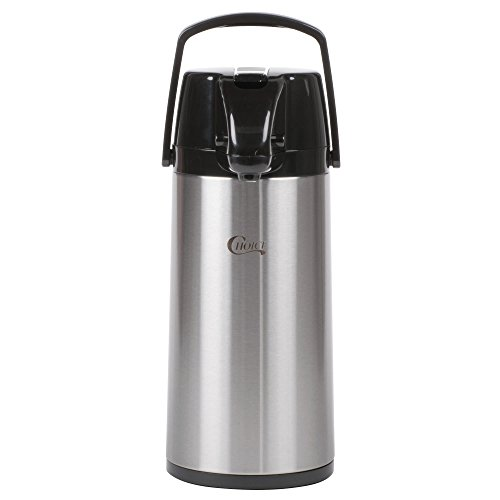 (TableTop King 1.9 Liter Glass Lined Stainless Steel Airpot with Lever)