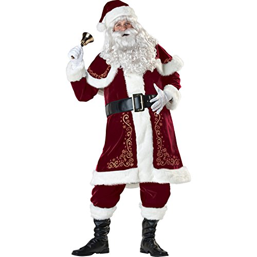 Jolly Ole St. Nick Costume - XX-Large - Chest Size (Jolly Ole St Nick Santa Costumes)