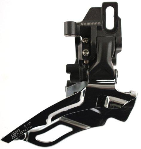 SHIMANO SLX FD-M661-10 Front Derailleur Direct Mount Dual Pull Aluminum ()