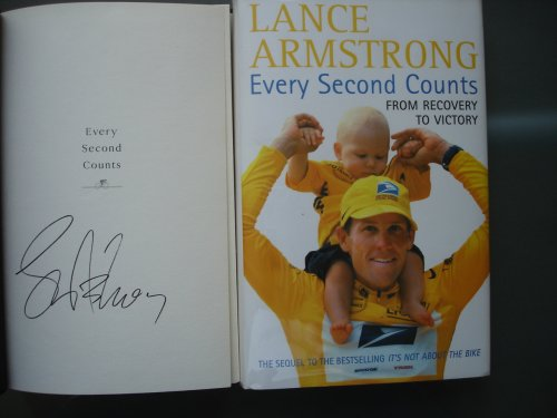 Every Second Counts from recovery to victory (SIGNED 1st Edition)