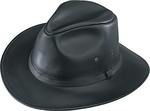 (Henschel Safari Hat, Black, Large )