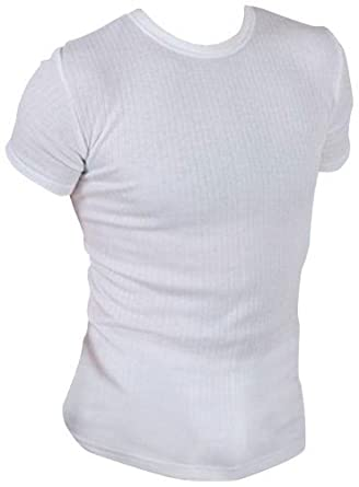Mens thermal short sleeve t shirts vests winter ski work for White thermal t shirt