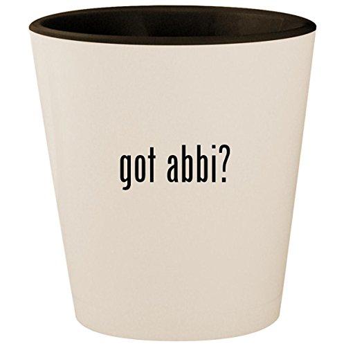got abbi? - White Outer & Black Inner Ceramic 1.5oz, used for sale  Delivered anywhere in USA