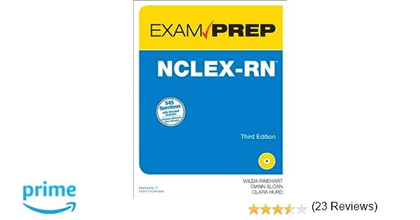 Nclex rn exam prep 3rd edition 9780789751065 medicine health nclex rn exam prep 3rd edition 9780789751065 medicine health science books amazon fandeluxe Gallery