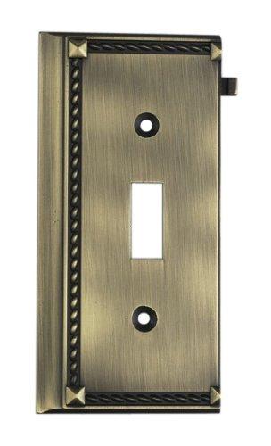 Elk 2507AB Antique Brass End Switch (Clickplate Antique)
