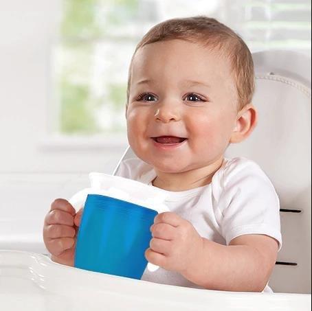 /Bleu et orange Munchkin lot de 2 Tasse dapprentissage Miracle 360