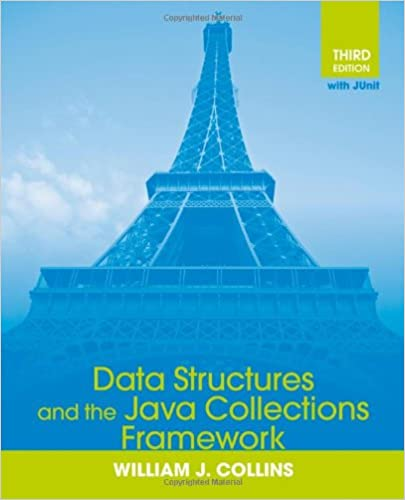 Data structures and the java collections framework: william j.