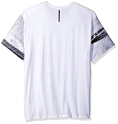 Calvin Klein Jeans Men's Big and Tall Short Sleeve Race Car V-Neck T-Shirt