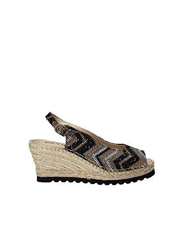 Keys 5354 Wedge Sandals Women Black