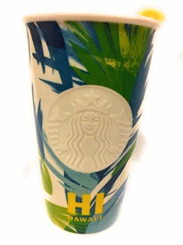 Starbucks 2016 Dot Aggregation Hawaii Limited Ceramic Travel Tumbler / Mug