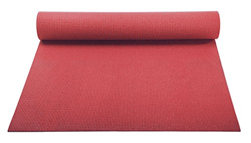 YogaAccessories 1/8'' Lightweight Classic Yoga Mat and Exerc