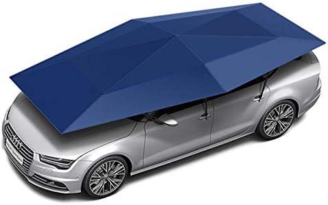 カーカバー 4.8M半自動屋外の車の車両のテント傘サンシェード屋根カバーアンチUVキットカー傘サンシェードテント Tani Katsura (Color Name : Blue)