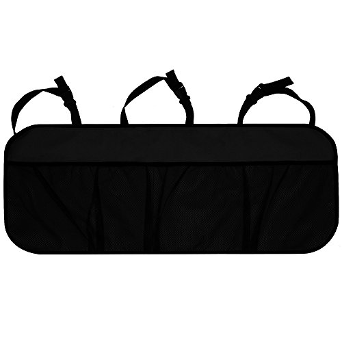 St. Patrick's Day Sale: FH GROUP FH1122 Trunk Organizer Multi-Pocket- Great for Storage, GBLACK Color- Fit Most Car, Truck, Suv, or Van (2007 Dodge Charger Trunk)