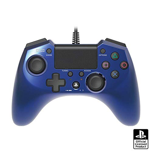 Hori Pad 4 FPS Plus for PS4/PS3 (Blue)