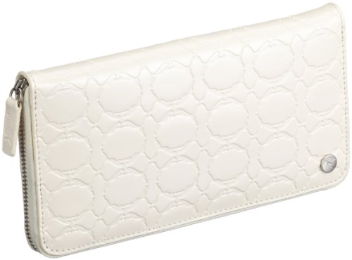 Puma Geldbeutel Socialite Zip East-West Wallet, gardenia white, 20 x 10,5 cm