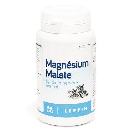 Leppin - Magnesium Malate 60 Cápsulas - chélateur de metales pesados - Alta biodisponibilité - Suplemento naturales: Amazon.es: Salud y cuidado personal