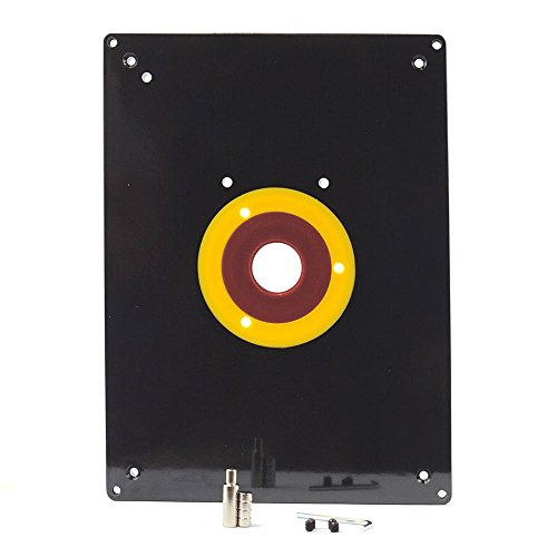 Router table mounting plate amazon big horn 18100 router table insert keyboard keysfo Image collections