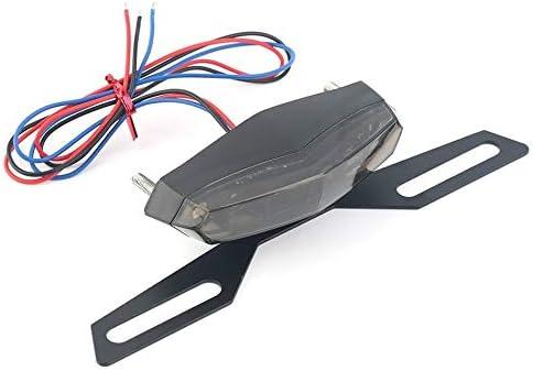 ABS et m/étal noir Longue vie basse consommation LED professionnelle Feu arri/ère arri/ère de moto Feu stop stop