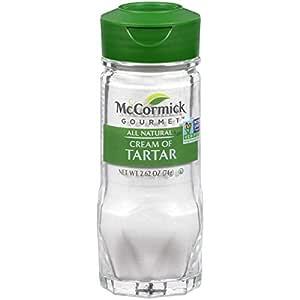 McCormick Gourmet All Natural Cream Of Tartar, 2.62 oz