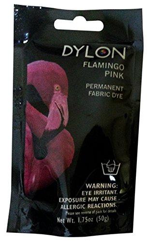 Dylon Flamingo Pink Permanent Dye 1.75 ()