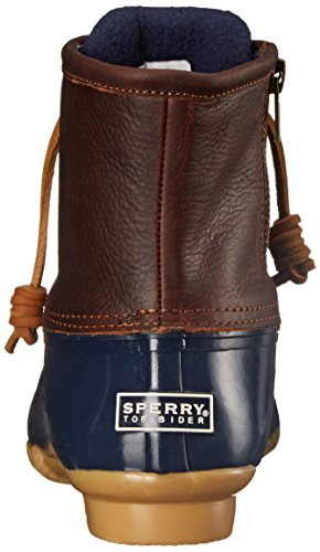 Rope Sperry Ankle Boots sider navy Women''s Tan Top Saltwater rIwPFKIcgq