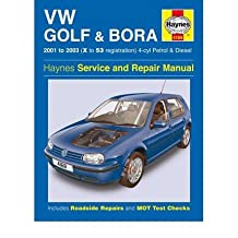 [(VW Golf and Bora 4-cyl Petrol and Diesel Service and Repair Manual: 2001-2003)] [Author: A. K. Legg] published on (February, 2005)