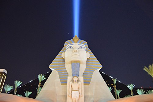 Home Comforts Peel-n-Stick Poster of Nevada Luxor Las Vegas Py Hotel Strip Casino Poster 24x16 Adhesive Sticker Poster Print