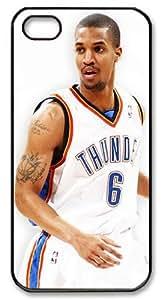 LZHCASE Personalized Protective Case for iPhone 5 - Eric Maynor, NBA Oklahoma City Thunder #6