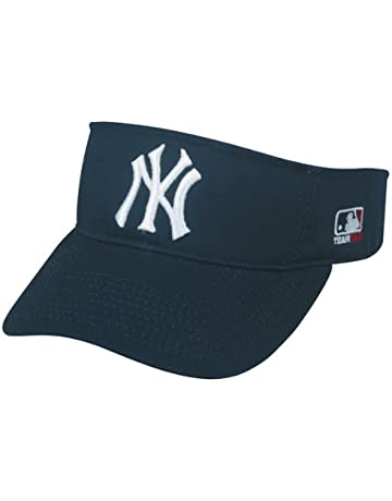 3dbb098fbc7 OC Sports New York Yankees MLB Sun Visor Golf Hat Cap Navy Blue w White