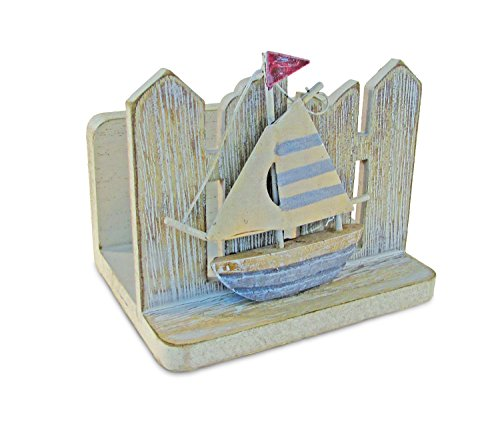 Puzzled Vintage Napkin Holder Nautical Décor - Beach Theme