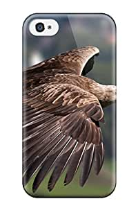 New Style Tpu 4/4s Protective Case Cover/ Iphone Case - Hawk In Flight