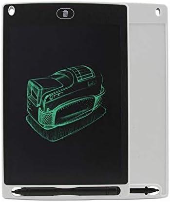 塗装用具 早期教育玩具グラフィティ製図板メッセージボード8.5インチLCD子供用製図板LCDライティングボード草案小さな黒板 (色 : White)
