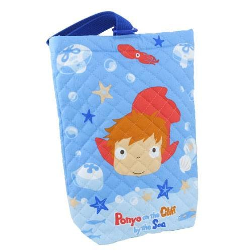 Ponyo on the Cliff by the Sea Quilting shoes bag (gymnasium shoes purse)