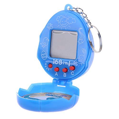 Yziss Virtual Cyber Pet Network Digital Retro Toy with Keychain 90s Nostalgic Machine
