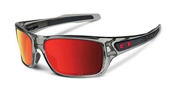 Oakley - Gafas de sol para hombre, color gris, lentes polarizadas: Amazon.es: Deportes y aire libre
