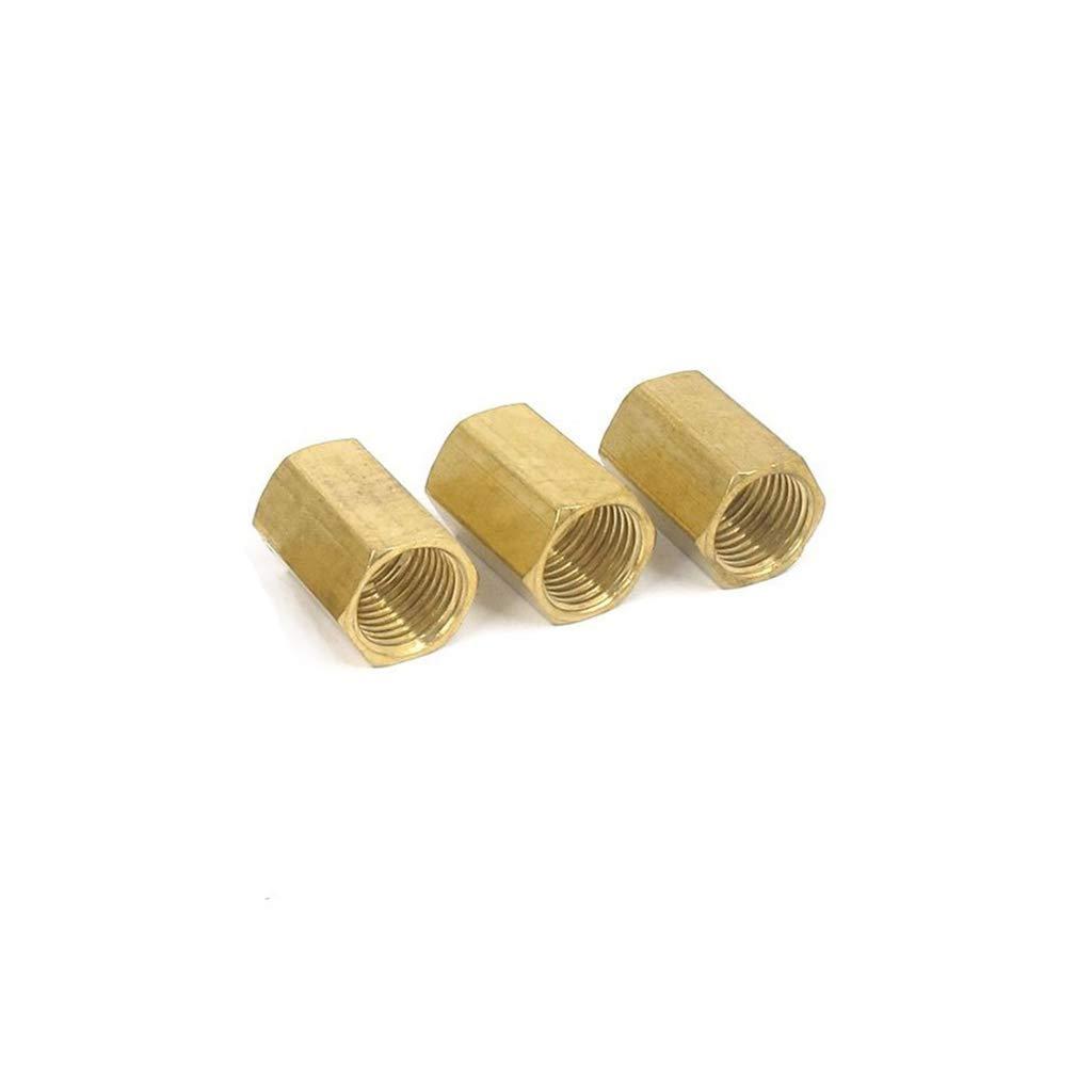 Ogquaton Adaptador neum/ático 5pcs 1//4 Pulgada BSP Rosca Hembra Recta Conector Neum/ático