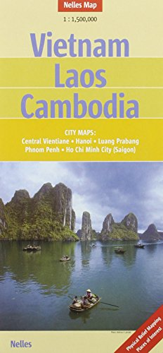 Vietnam, Laos and Cambodia Nelles map...