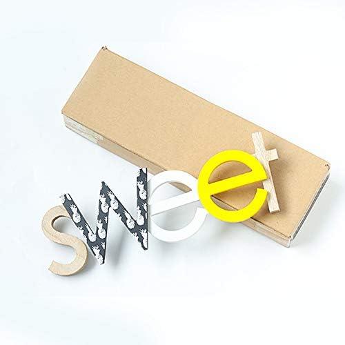 Letra de madera para colgar en la pared letras letras letrero para colgar 36.5 * 11.5cm//15.5*4.5 Family n/úmeros de madera