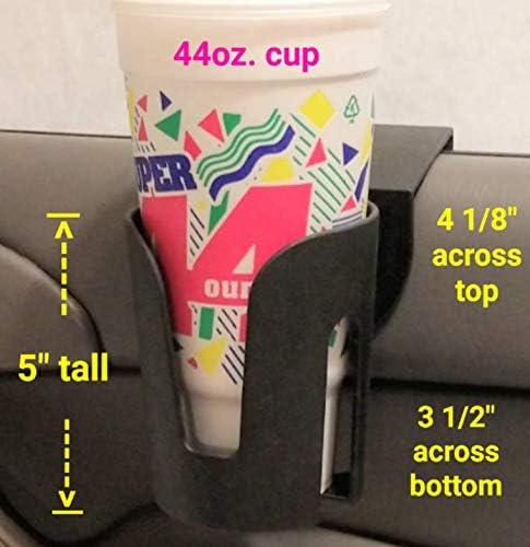 Seat Seam Gap Wedge Storage Organizer for Drink Bottle Pen Phone JoyFan Universal Auto Truck Seat Side Cup Holder Mount Stand